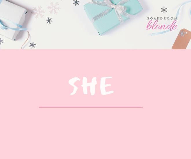 she giftguide
