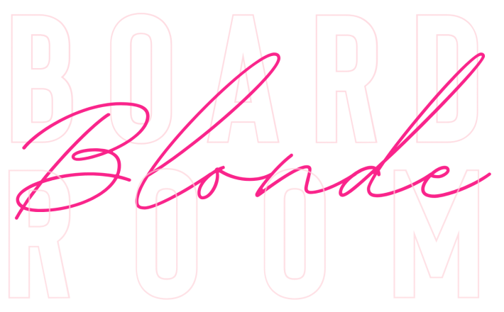 Boardroom Blonde